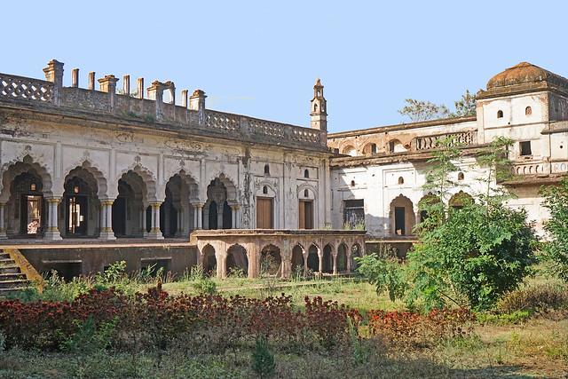 Le jardin du Taj Mahal de Bhopal (Inde)