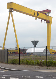 SAMSON AND GOLIATH CRANES IN BELFAST REF-102923 | by infomatique
