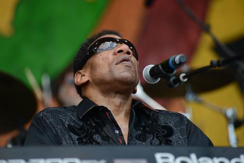 Henry Butler at Jazz Fest 2016.  Photo by Leon Morris.