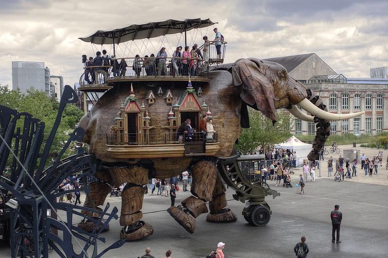 Elephant, Nantes