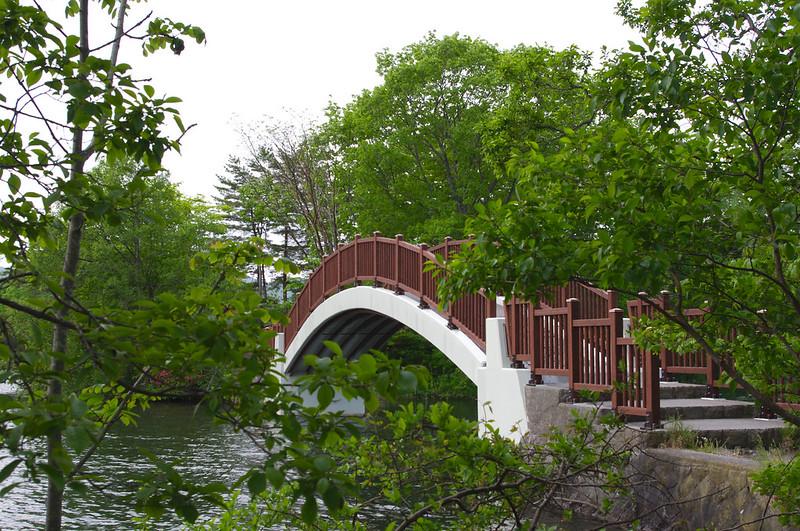 Pont reliant les îles