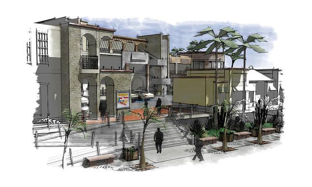 Nogales Plaza, Render 1