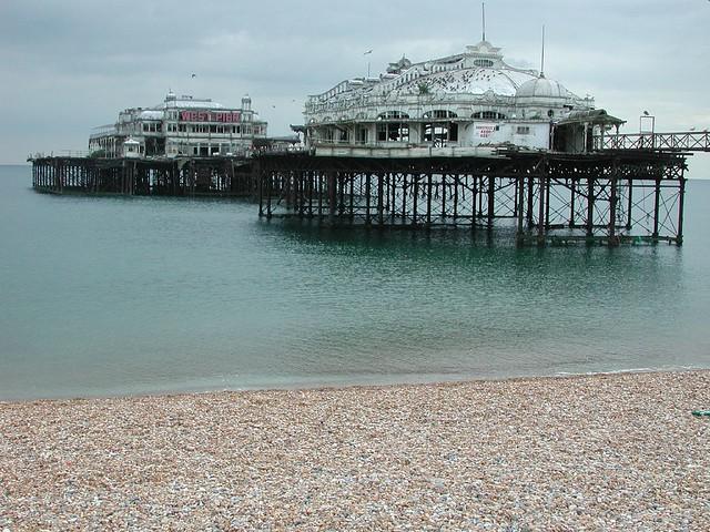 Old West Pier ---- Brighton, UK | Brighton's West Pier, open… | Flickr