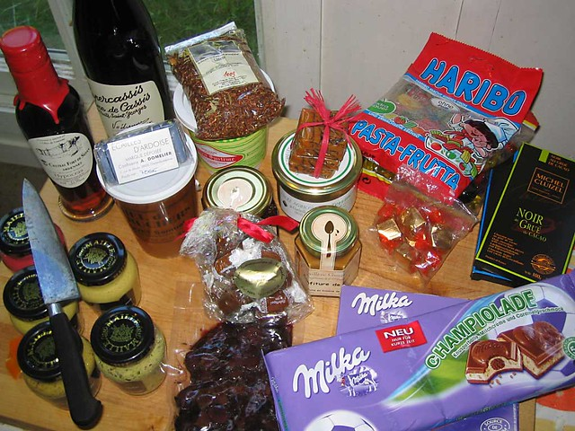 Euro Food Purchases and Gifts