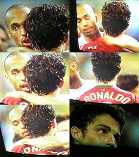 Henry et C Ronaldo post match | by nofrills