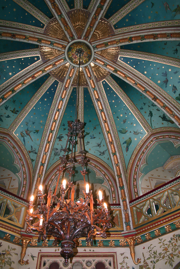 Castle Drawing Room: Castell Coch: Drawing Room Ceiling