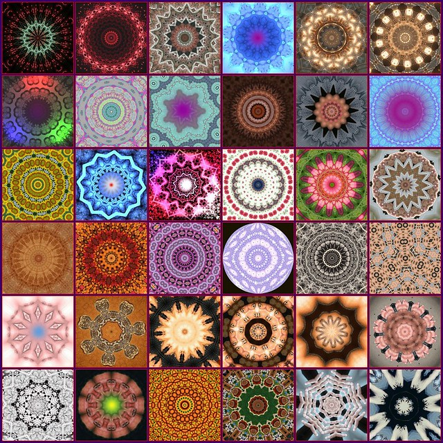 Image result for mandalas and kaleidoscopes