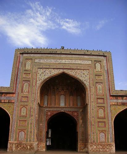Main Entrance Of Prayer Hall, Masjid Wazir Khan
