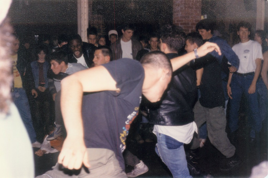 ... MOSH PIT 1984  The LIVING ROOM Providence,RI   By Billsgallery