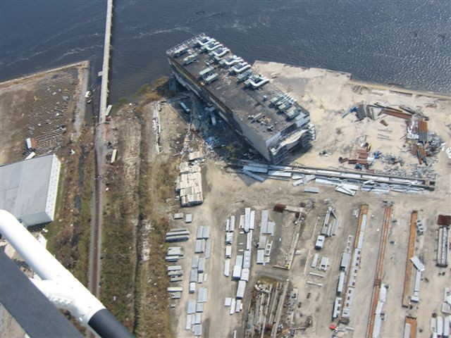 Katrina Casino Boat Destroyed Hurricane Katrina Mississipp Flickr