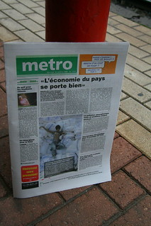 Belgian Metro Newspaper | by diluvienne