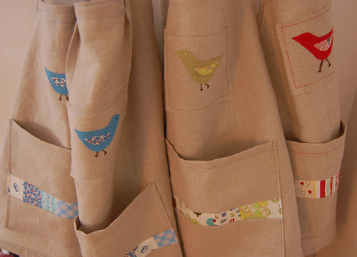 the Bird aprons | by SouleMama