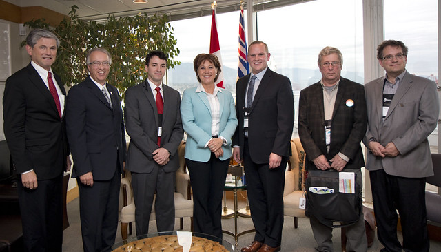 Premier meets with Burns Lake