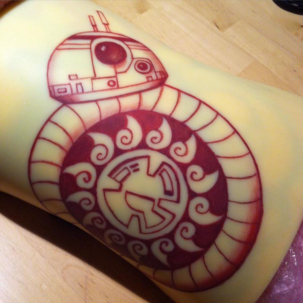 Got Some Starwars Forceawakens Bb8 Mandala Tattoo Wor