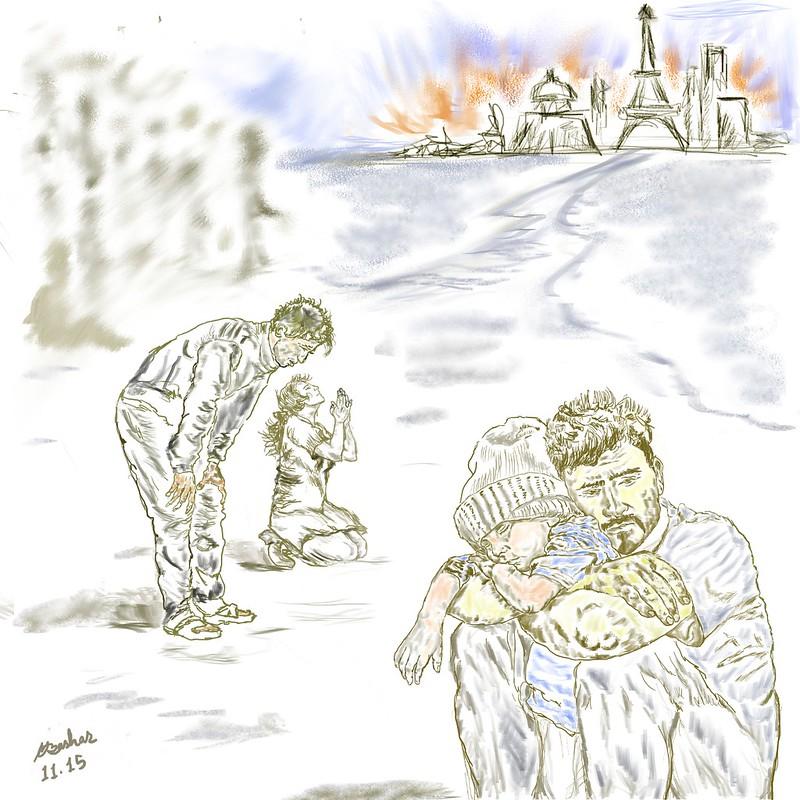 Refugees In Despair