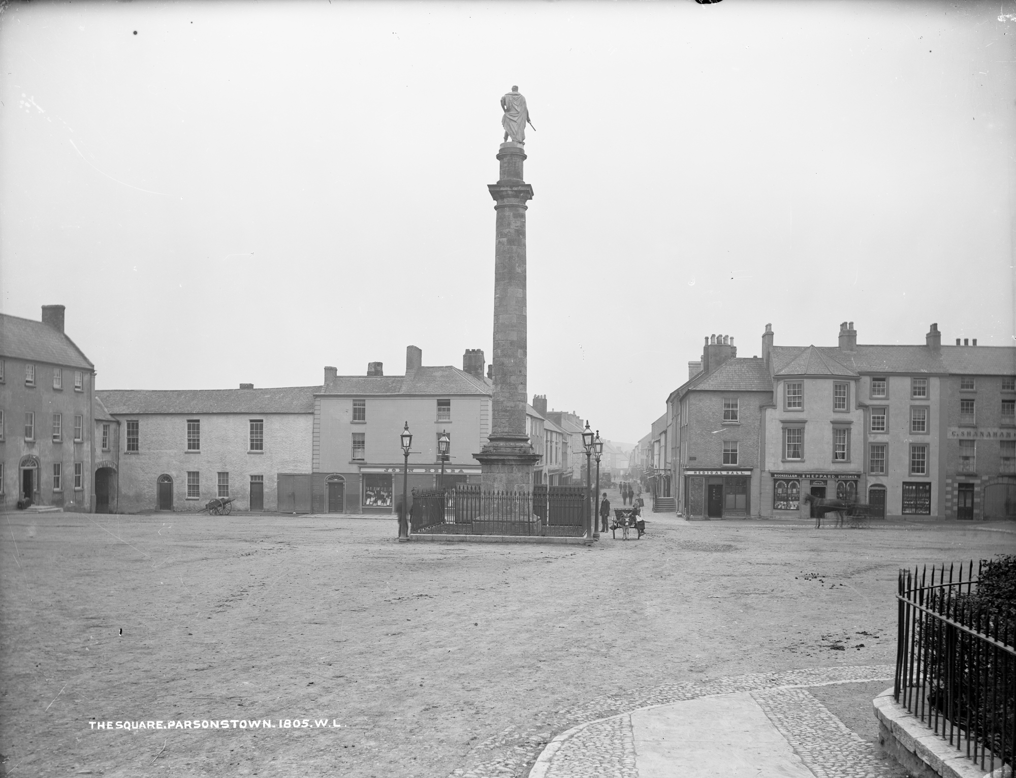The Square, Parsonstown (Birr, Co Offaly)