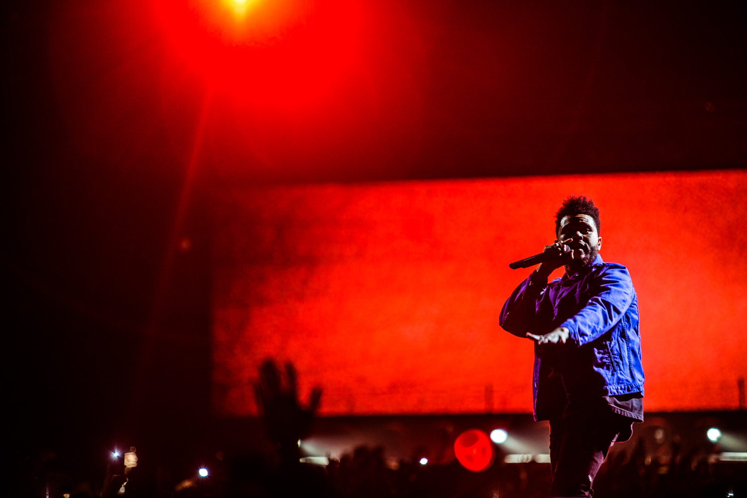 The Weeknd @ Sportpaleis 2017 (Nathan Dobbelaere)