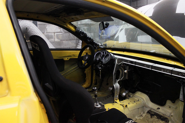 Jeromes French Seat Ibiza Drag Car