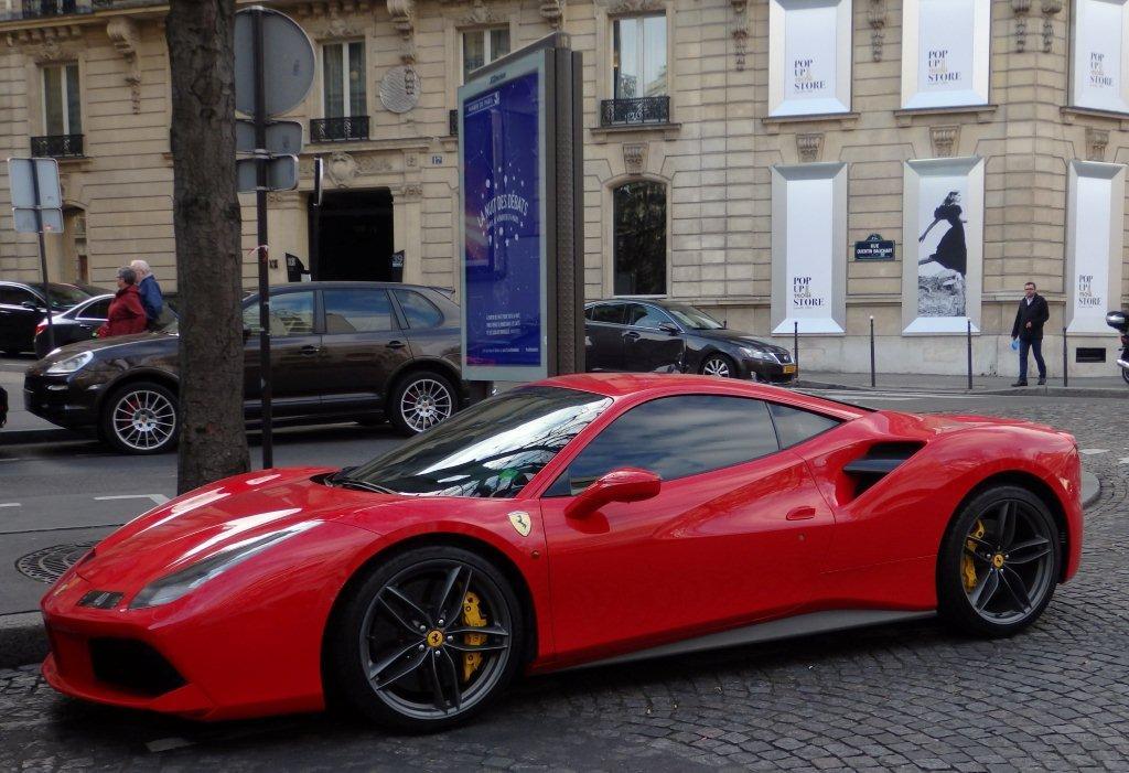 Paris Ferrari 388 Gtb Marc Tavernier Flickr