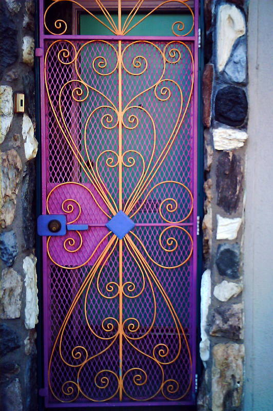 Pretty screen door