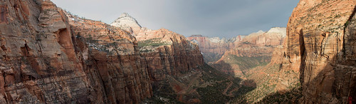 Zion Canyon from the Overlook | by DragonSpeed