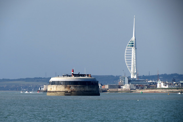 Spitbank Fort and Portsmouth
