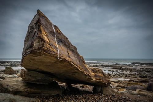 winter sea england beach water clouds nikon rocks solitude alone lowtide hastings eastsussex lightroom pettlevel sigma1020f456 d7100