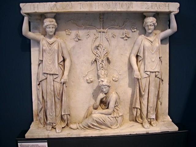 Caryatids (beginning 1st century AD) from Pozzuoli - Naples Archaeological Museum -