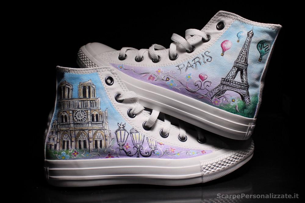 personalizzare scarpe converse
