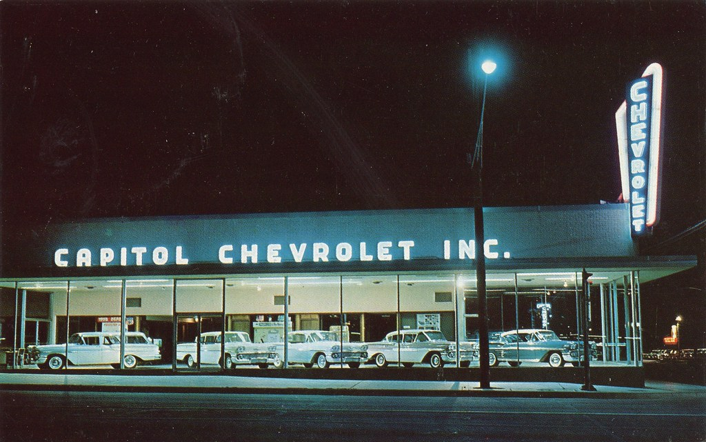 Capitol Chevrolet Inc Austin Tx 1958 5th And Lamar Sti