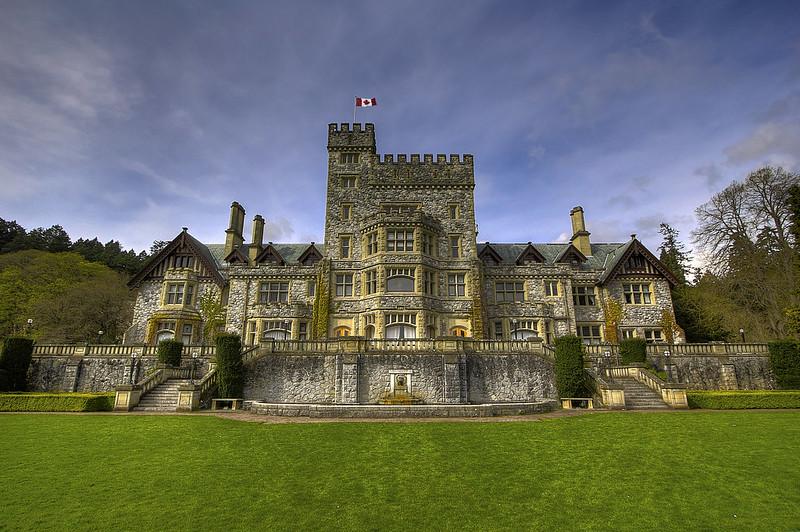 Hatley Castle, Royal Roads University, Victoria, BC