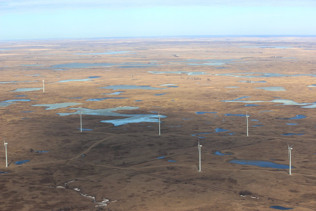 Image result for The Tatanka Wind Farm on the border in both North and South Dakota. (