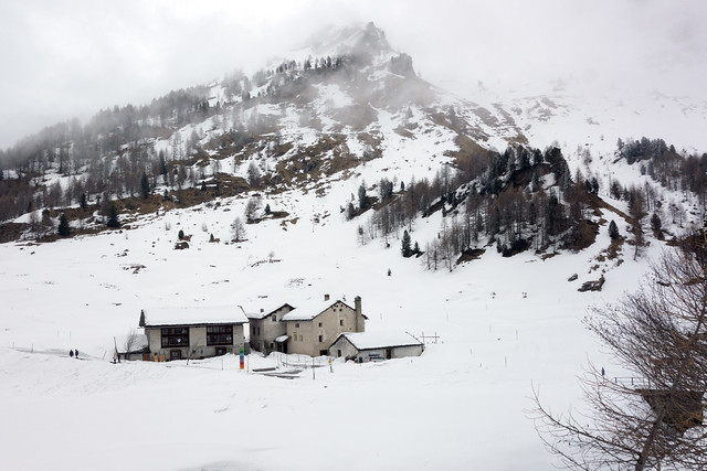 My place for a skiing week