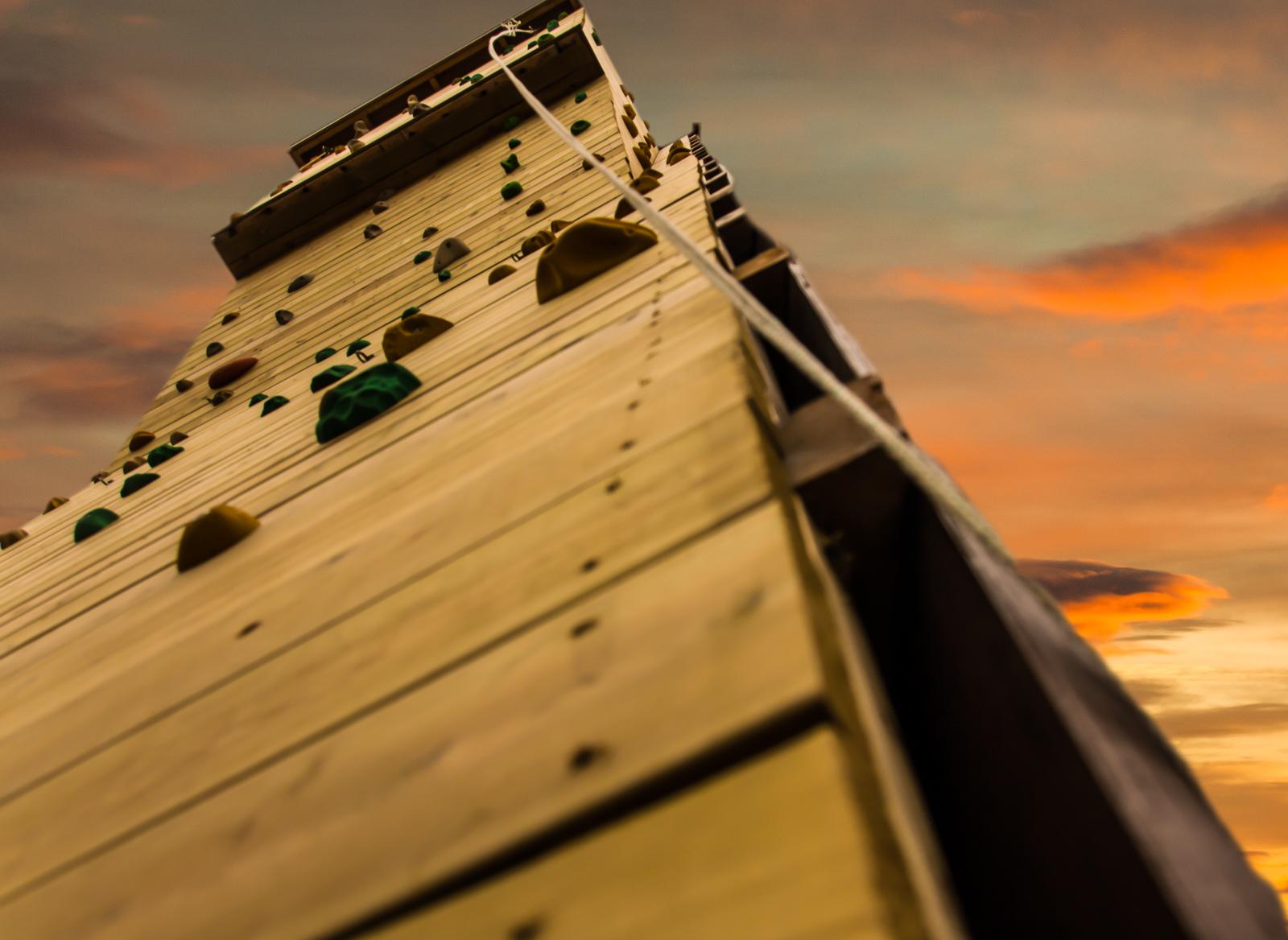 Leirskolens klatretårn