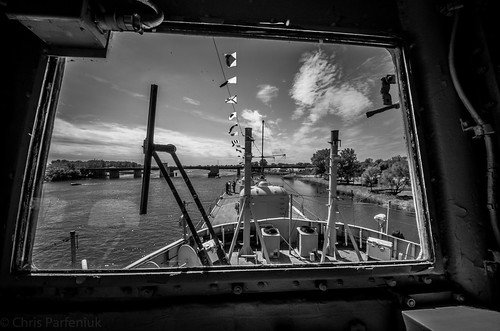 pentax michigan destroyer baycity bathironworks viewfromthebridge ussedson dd946 forrestshermanclassdestroyer pentaxk5 saginawvalleynavalshipmuseum imgp3358edit