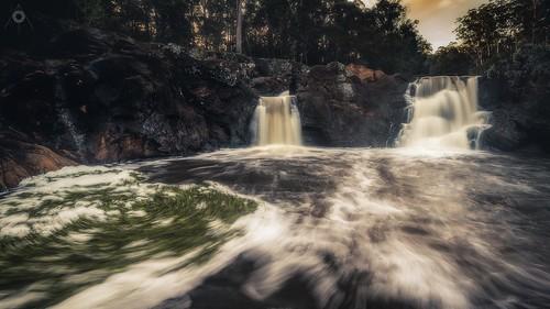 australia canon forest landscape leefilters longexposure nature queensland rocks sunshinecoast swimminghole trees wappafalls water waterfalls