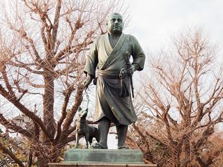 Hanami at Ueno Park 2013: Statue of Saigo Takamori | by Dick Thomas Johnson