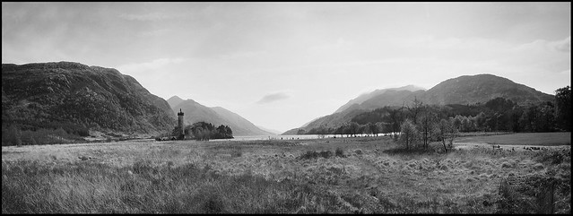 Glenfinnan Monument -BW