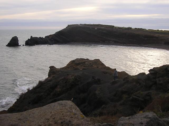 Platja volcànica - Cap d'Agde