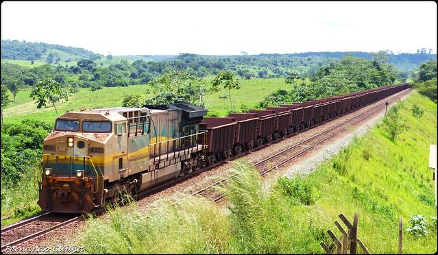Trem de Minério - Estrada de Ferro Carajás - Brasil.