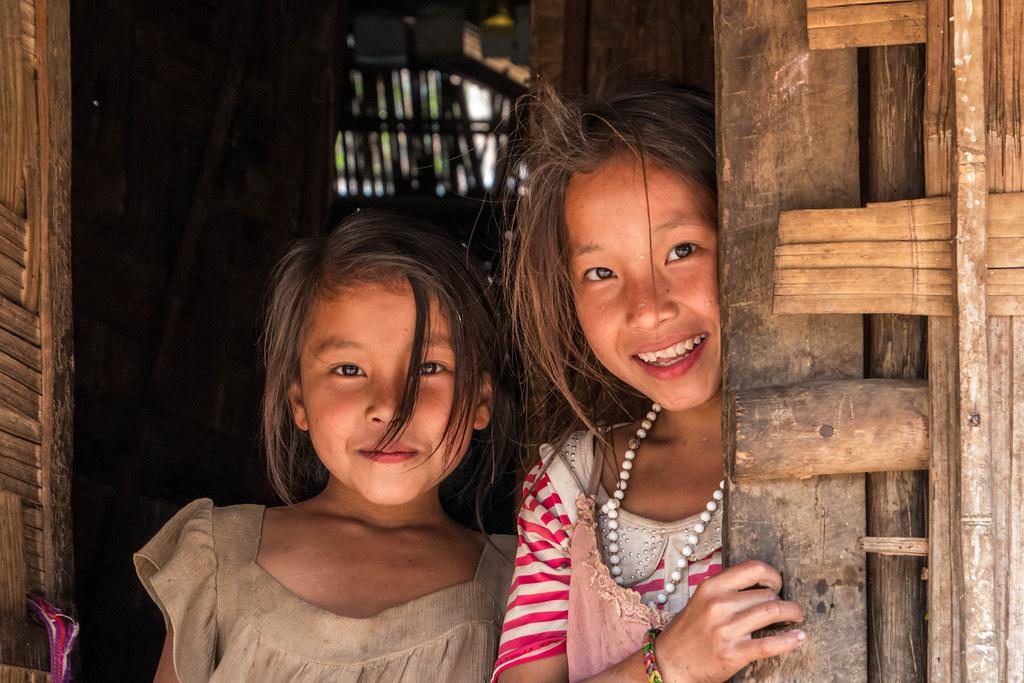 Jeunes filles Hmong. Muang Sing. Laos | Thierry Leclerc | Flickr