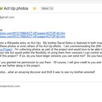 Email to Clay Walker