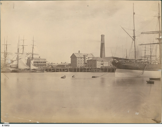 View of Port Adelaide from Birkenhead. - Photograph courtesy of the State Library of South Australia