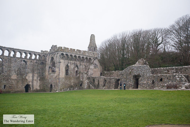 Ruins next to St. David's Cathedral