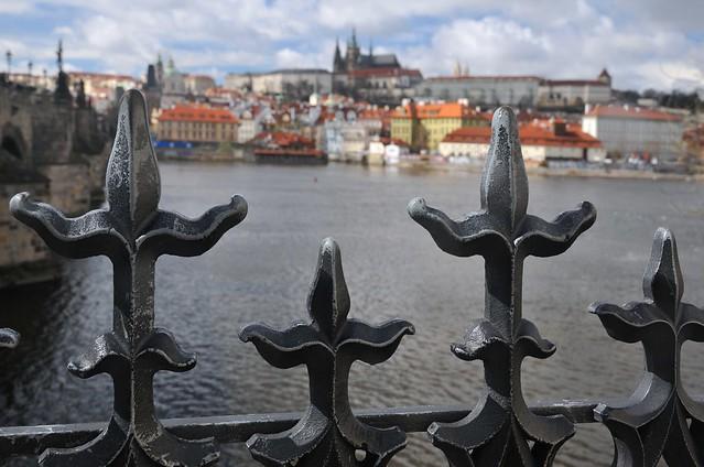 Praha - panorama Hradčan z Křižovnického náměstí