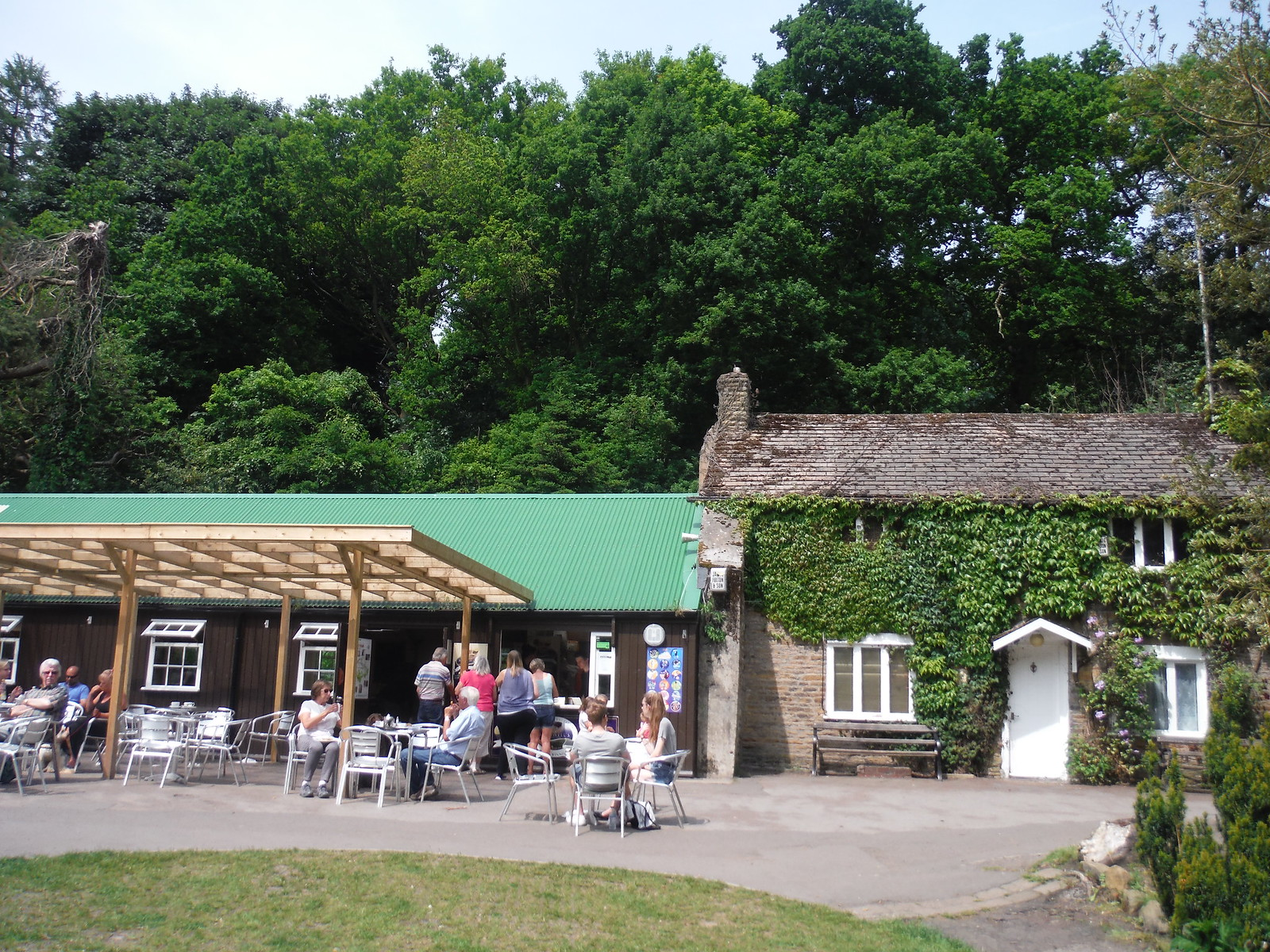 The Forge Dam Cafe SWC Walk 267 - Sheffield Circular (via Porter, Limb, Sheaf and Gleadless Valleys)