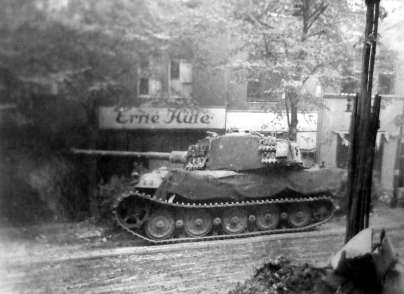 Tiger King during the Battle of Berlin