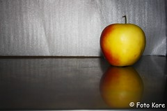 The Apple Fell On My Table - Still Life