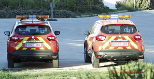 Nuevo Renault Captur de los Bomberos del Ayuntamiento de Madrid | by juanemergencias