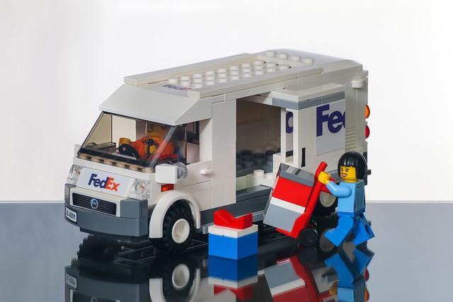 MOC Fiat Fedex Van
